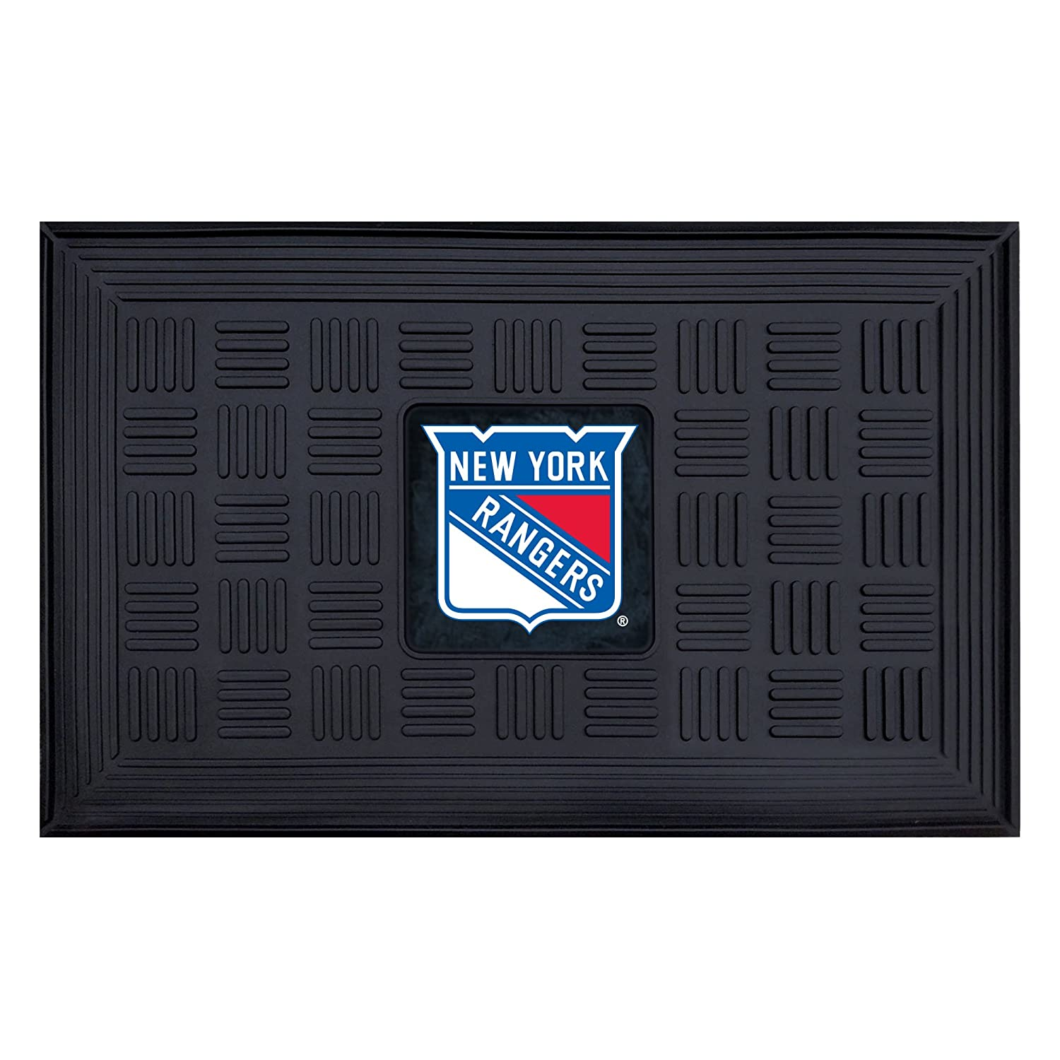 Charming Cardinal Kitchens Nyc #9: FANMATS NHL New York Rangers Vinyl Door Mat