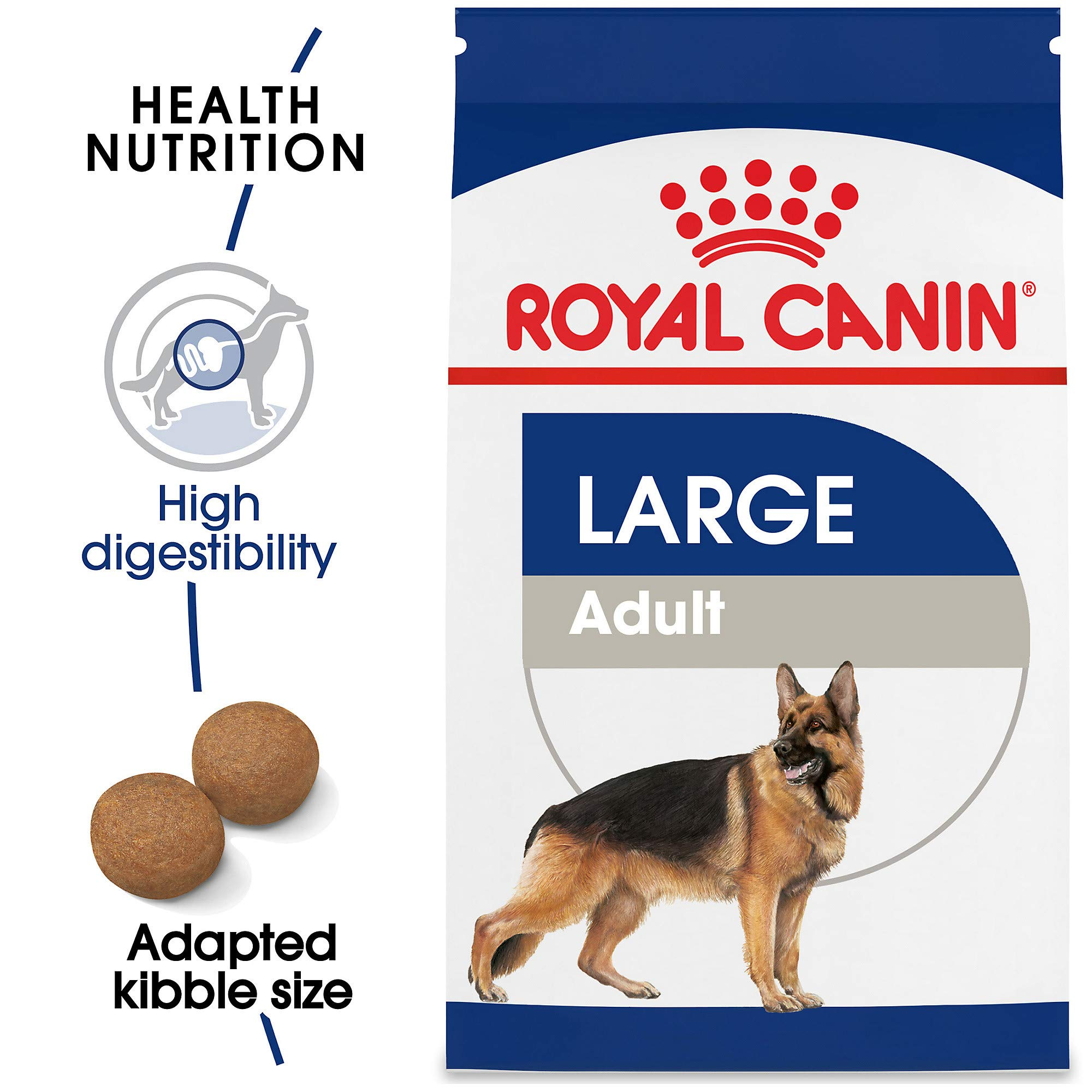 Royal Canin Size Health Nutrition Large Adult Dry Dog Food, 35 Lb