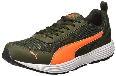 Puma Men s Forest Night-Shocking Orange Shoes-11 UK India (46 EU 2012d89d8b