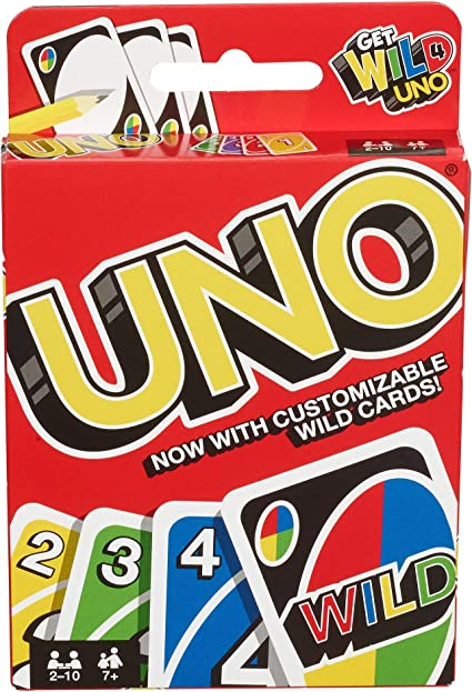 Amazon.com: UNO Card Game: Toys & Games