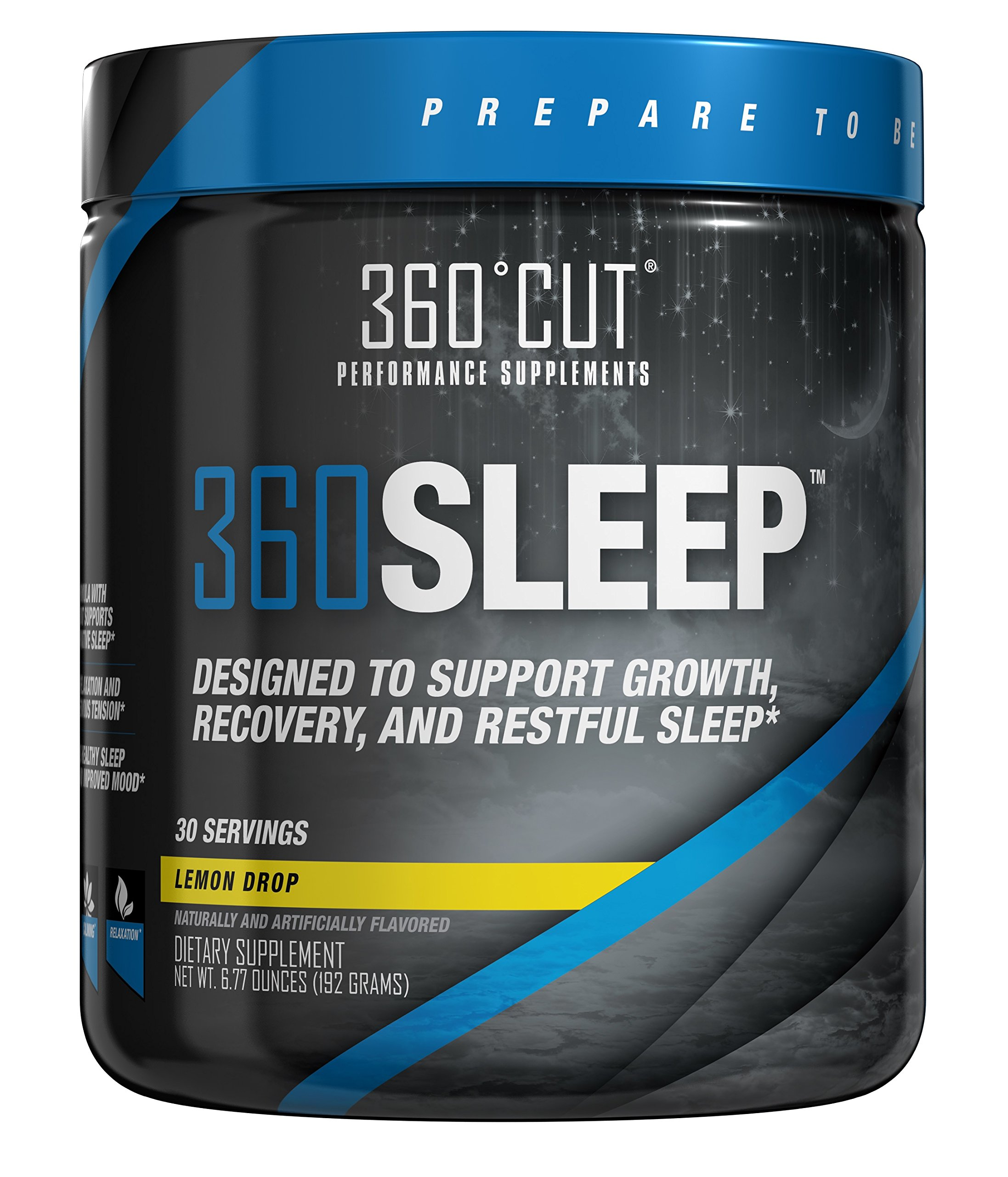 360SLEEP Valerian Root Sleep Aid for Restful, Restorative, Natural Sleep w/Valerian Root