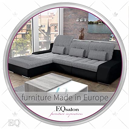 Amazing European Sleeper Sectional Sofa Pull Out Bed GIORGIO With Storage Modern  Design U2026 (color