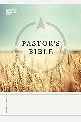 CSB Pastor's Bible Kindle Edition