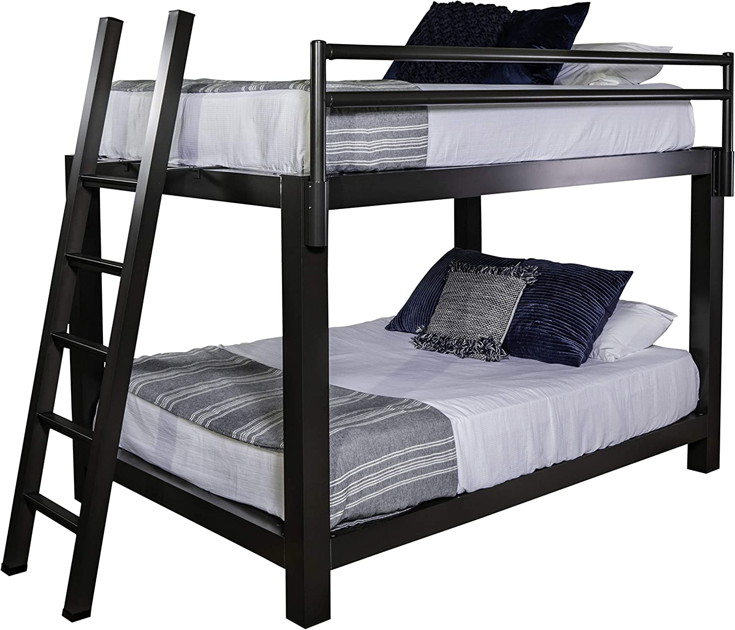 Amazon Com King Over King Adult Bunk Bed Kitchen Dining