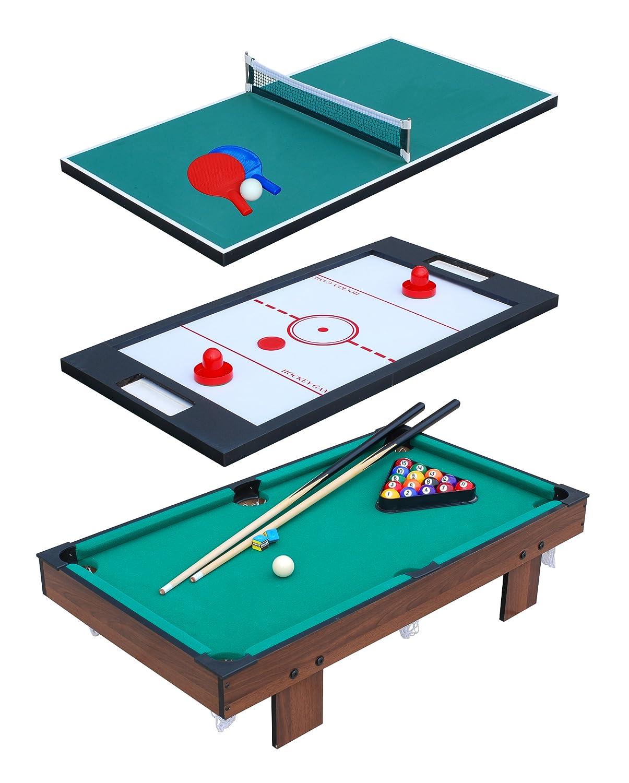gran selección y entrega rápida Fa Sports  Mesa de Juego Gamio III, III, III, marrón verde Negro, 91,50 x50, 80x20, 10 cm  edición limitada