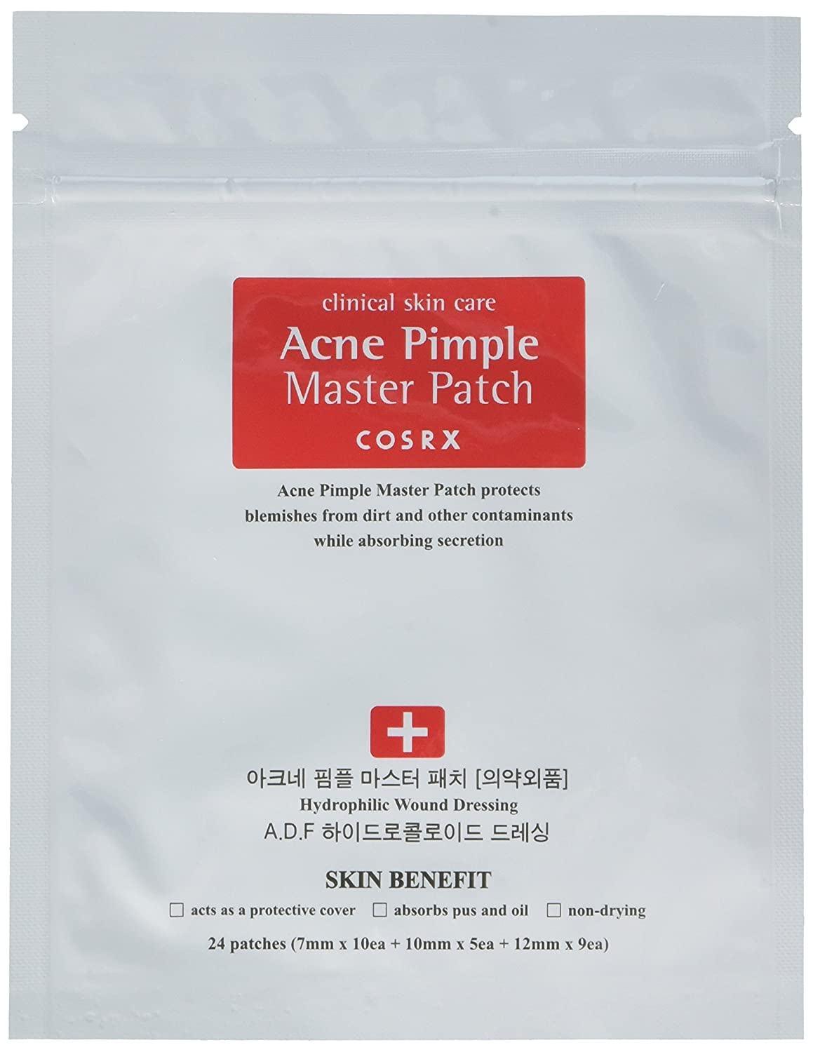 (6 Pack) COSRX Acne Pimple Master Patch