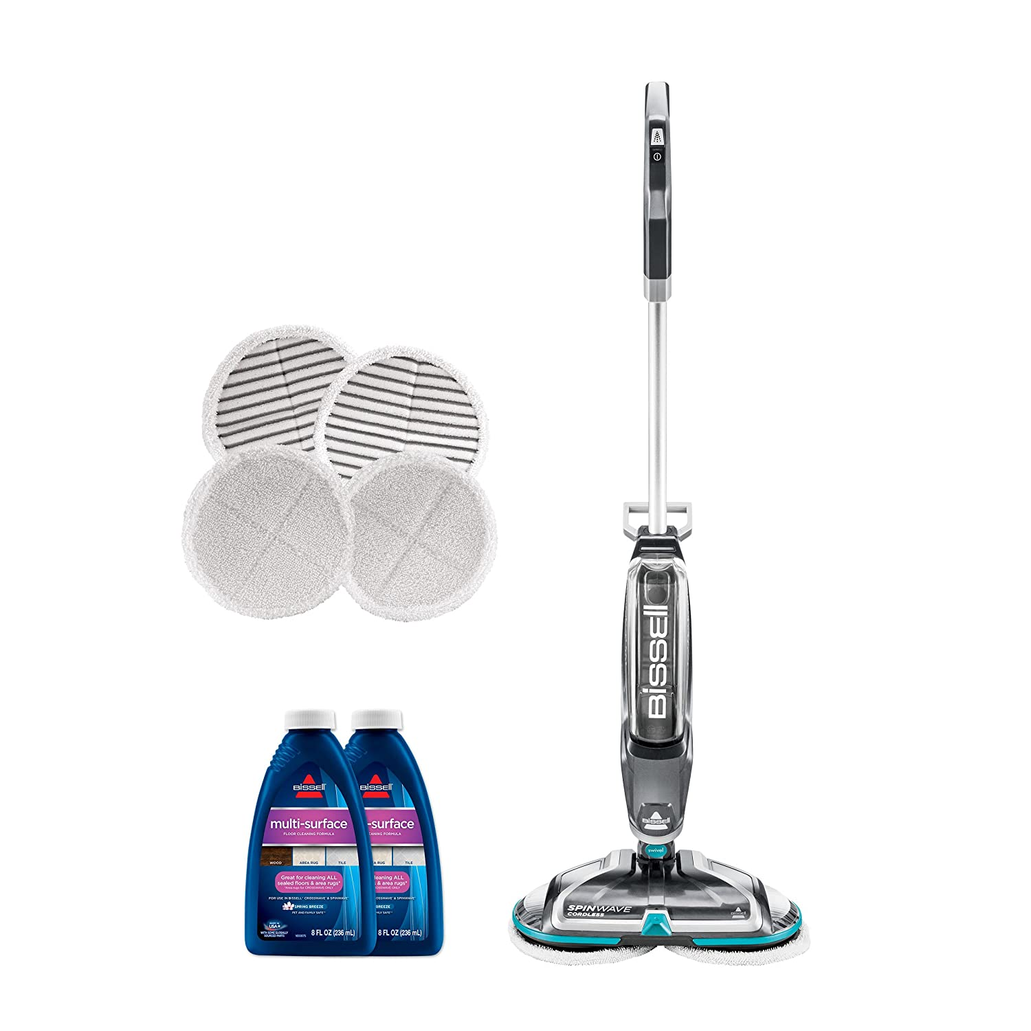 Bissell Long Lasting Performance Bundle 2039a Spinwave