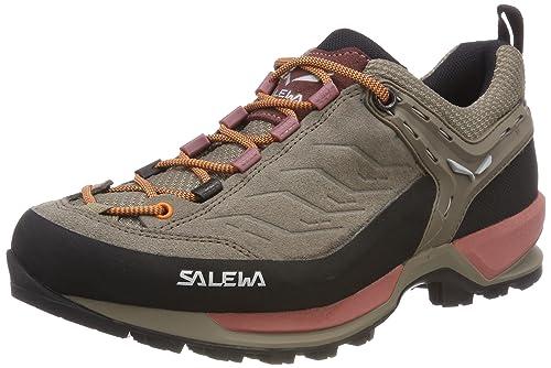 Salewa WS Mtn Trainer, Zapatillas de Senderismo para Mujer, Azul (Premium Navy/Subtle Green 3981), 42.5 EU