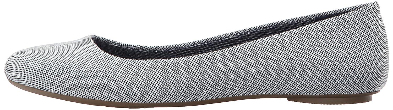 Dr. Scholl's Women's Really Flat B0174AGZES 9.5 M US|Navy/Gardenia Beach Bag