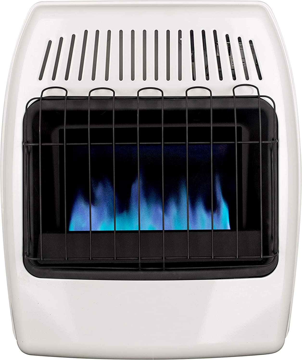 Dyna-Glo 20,000 BTU Natural Gas Blue Flame Vent Free Wall Heater, White