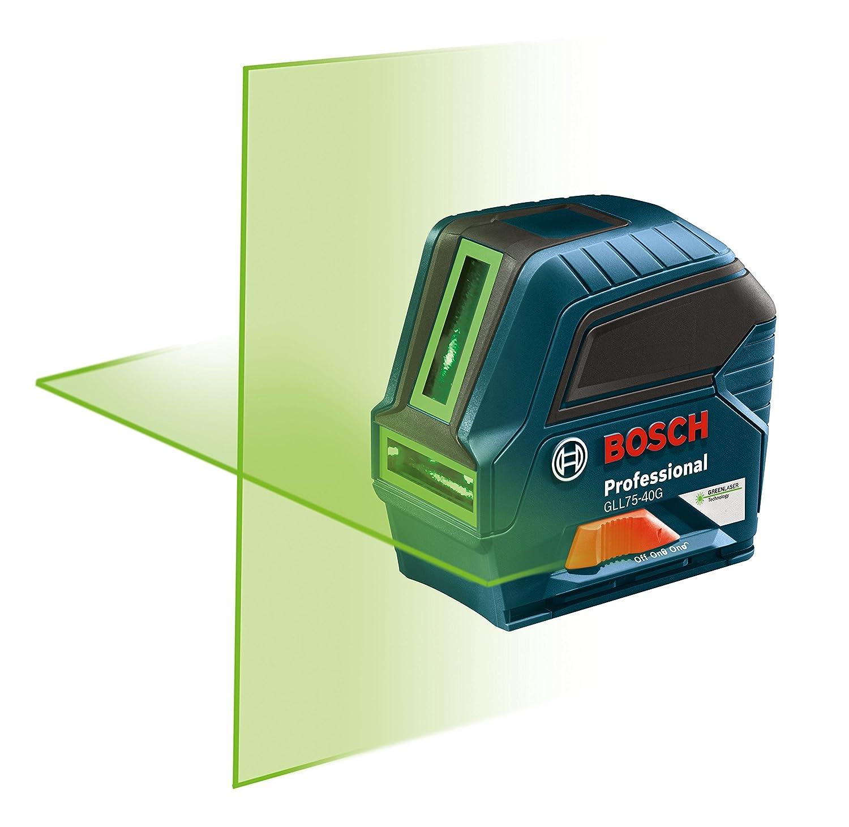 Bosch GLL75-40G Green-Beam Self-Leveling Cross-Line Laser