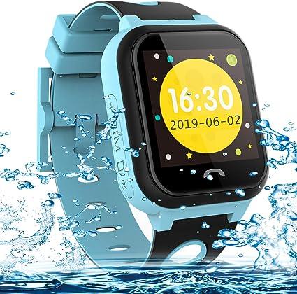Vannico Smartwatch Niños,Reloj Niños Inteligente GPS 2G GPS/LBS ...
