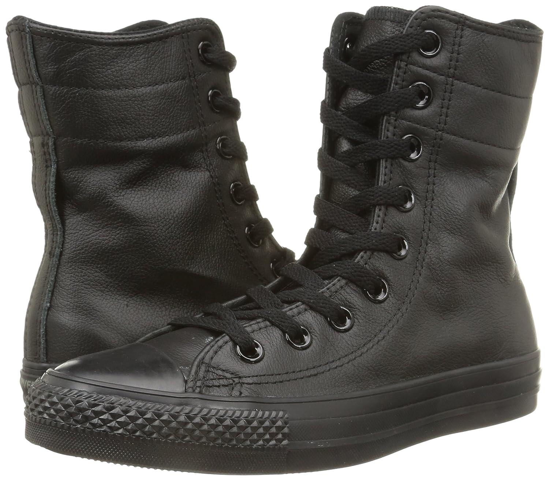 Converse Herren, All Star Hi Rise Textile Quilt, Schwarz (Black), 35