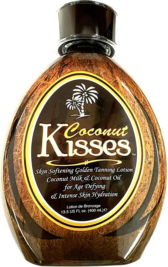 Amazon.com : Ed Hardy Coconut Kisses Golden Tanning Lotion, 13.5 oz : Tanning Oils : Beauty