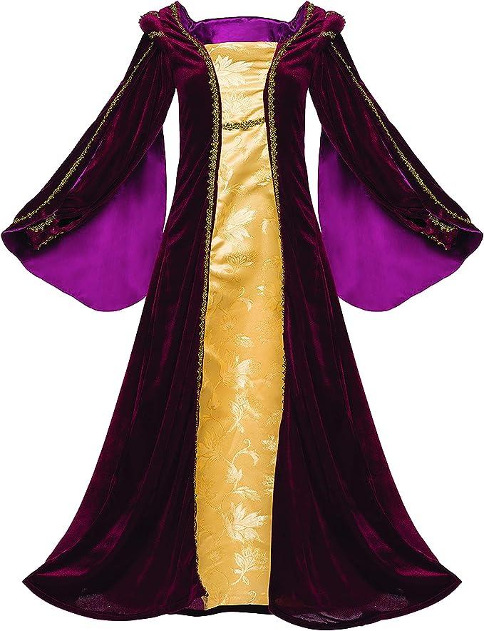 Lady Guinevere Renaissance Magenta Dress Medieval Womens Plus Size Costume 1x-3x