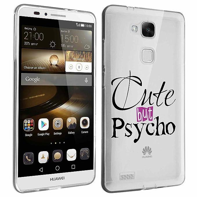 849 - cute but estupefacientes diseño Huawei Mate S silicona ...