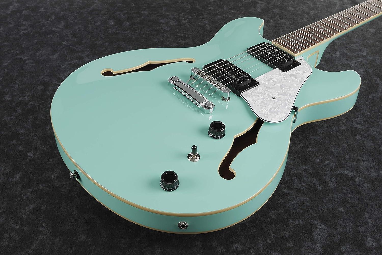 Ibanez as63-sfg - Sea Foam Green - Guitarra eléctrica: Amazon.es: Instrumentos musicales