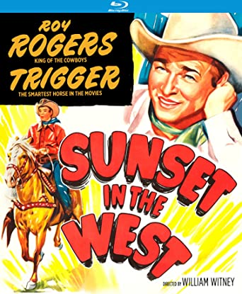 2e7079198c2e7 Amazon.com  Sunset in the West (1950)  Blu-ray   Roy Rogers