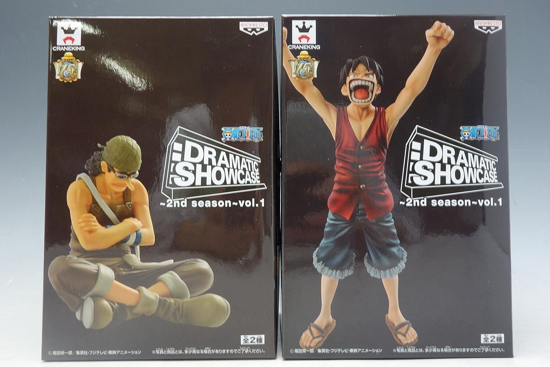 Banpresto - Figurine One Piece - Dramatic Showcase Vol1 Luffy et Usopp 16cm - 4983164490923