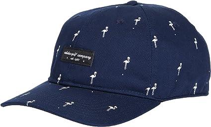 Adidas Herren Golfmütze Mit Flamingo Motiv Herren Mütze Adidas Golf Men S Flamingo Hat Navy One Size Fits Most Bekleidung