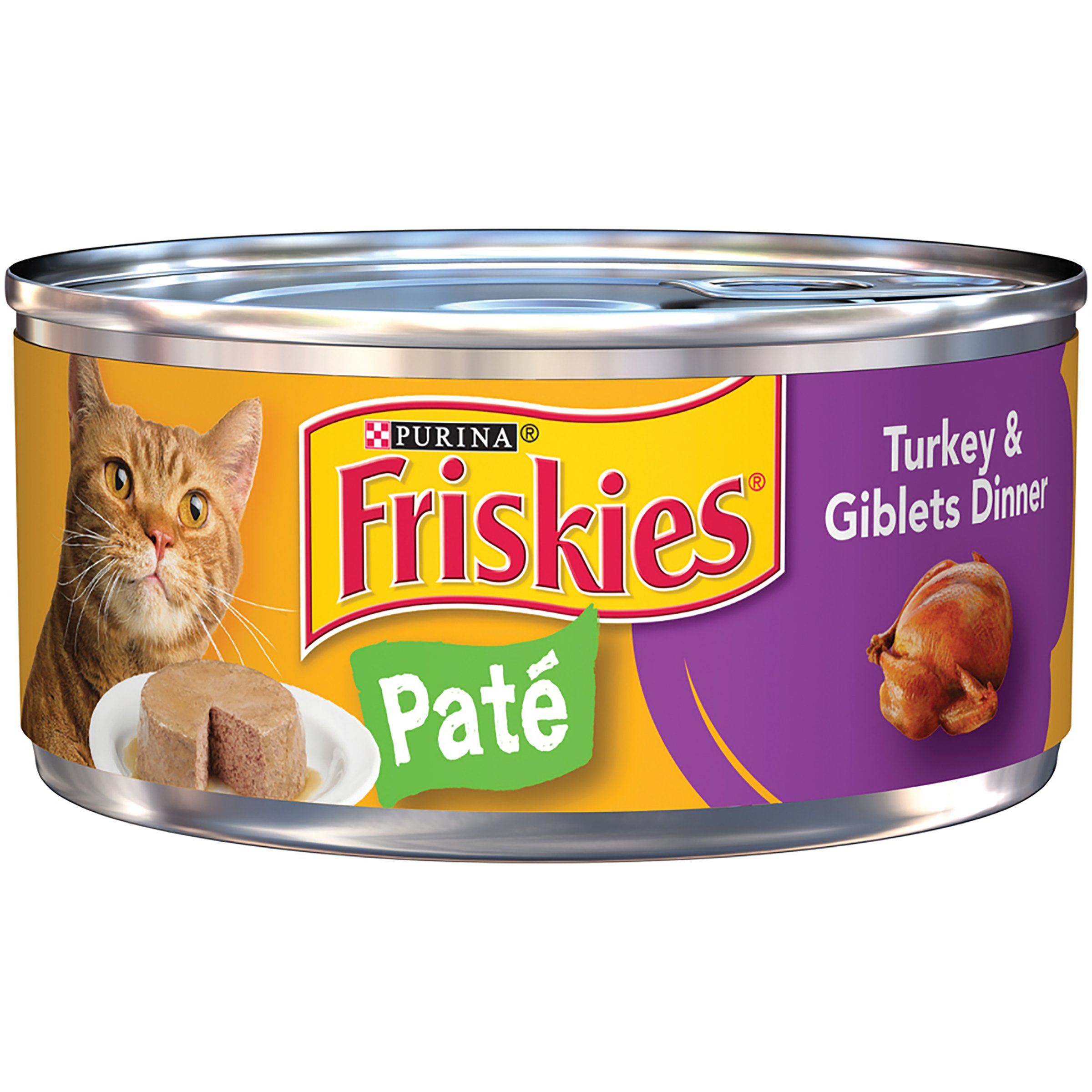 Purina Friskies Classic Pate Wet Cat Food 5.5 oz Standard Packaging