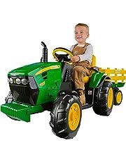 Peg Perego IGOR0039 John Deere Ground Force Tractor with Trailer