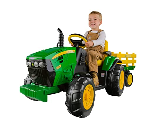 Peg Pérego John Deere Ground Force Tractor with Trailer