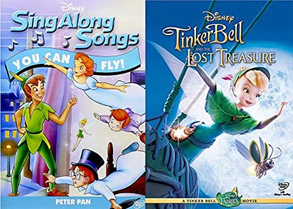 Amazoncom Disney Movie Songs Peter Pan You Can Fly Dvd
