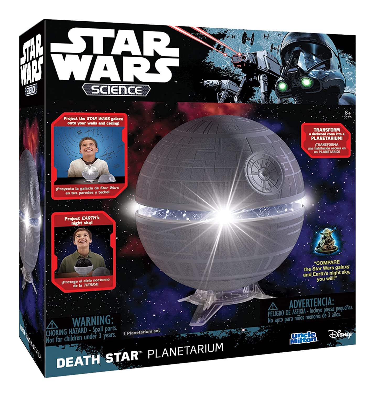 Amazon Star Wars Science Death Star Planetarium Uncle Milton