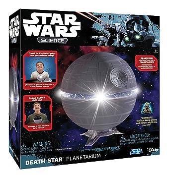 Uncle Milton Star Wars - Planetario en Forma de la Estrella de la Muerte