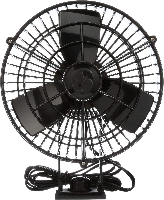 Caframo Kona 24 V Resistente al Agua Ventilador de Velocidad Variable, Negro: Caframo: Amazon.es: Deportes y aire libre