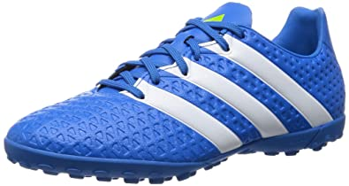 wholesale dealer 592ce b0dcb adidas Ace 16.4 TF, Chaussures de Football Homme, Bleu (Shock Blue FTWR