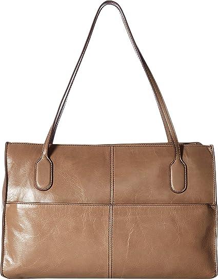 2050b9e0f628 Hobo Women s Genuine Leather Vintage Friar Top Handle Shoulder Bag  (Cobblestone)  Amazon.co.uk  Shoes   Bags