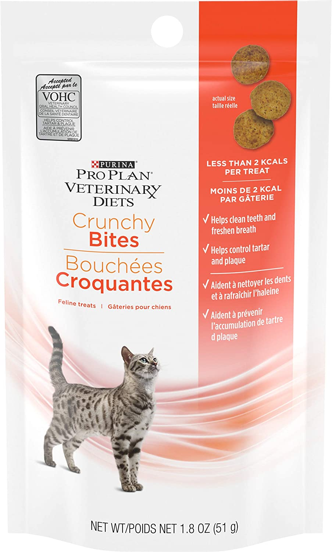 Purina Pro Plan Veterinary Diets Crunchy Bites Cat Treats - 1.8 oz. Pouch