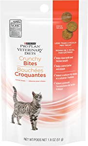 Purina Pro Plan Veterinary Diets Crunchy Bites Cat Treats - 1.8 oz. Pouch