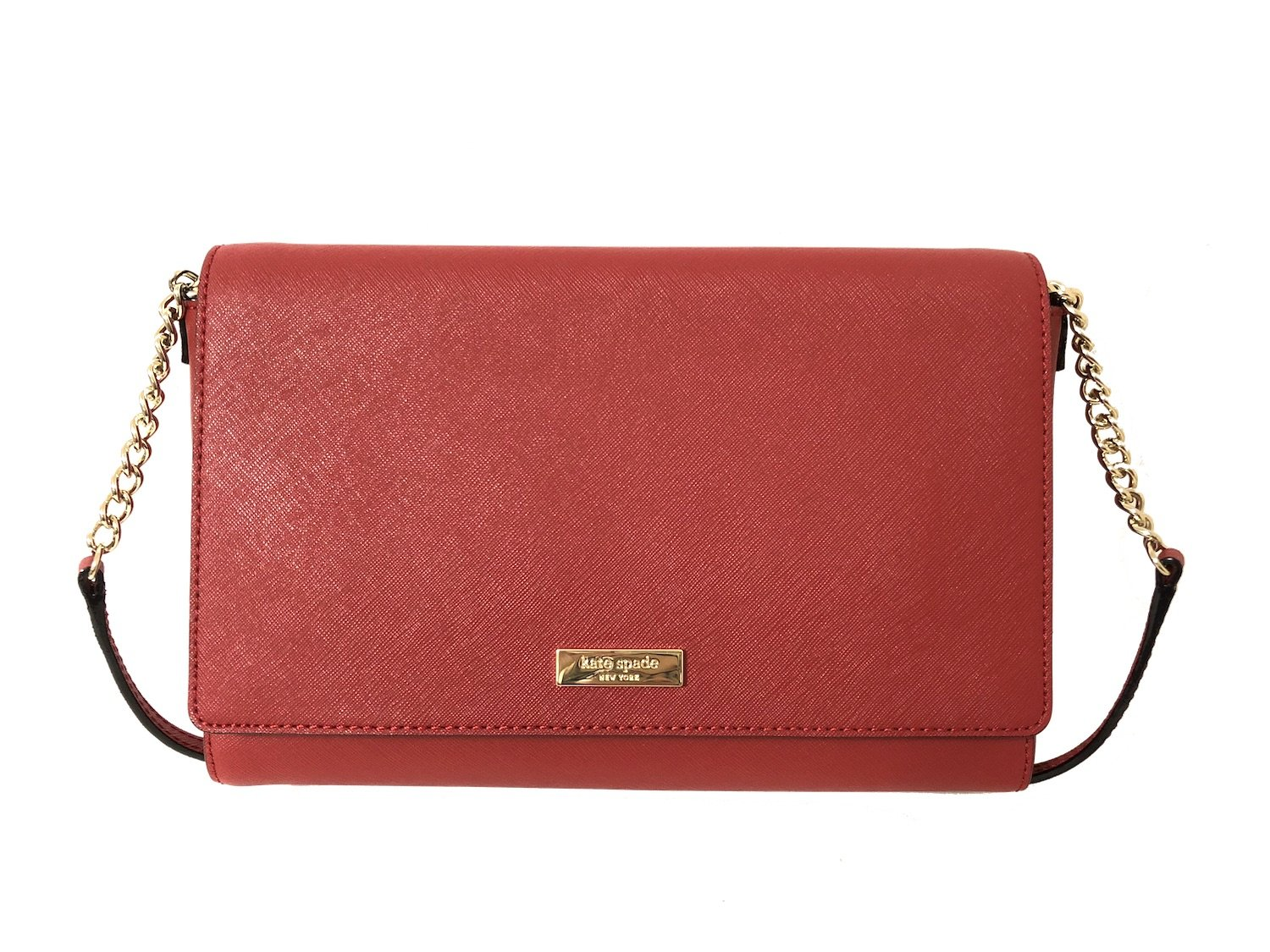 Kate Spade New York Tilden Place Alek Leather Crossbody Handbag (Pillbox Red)