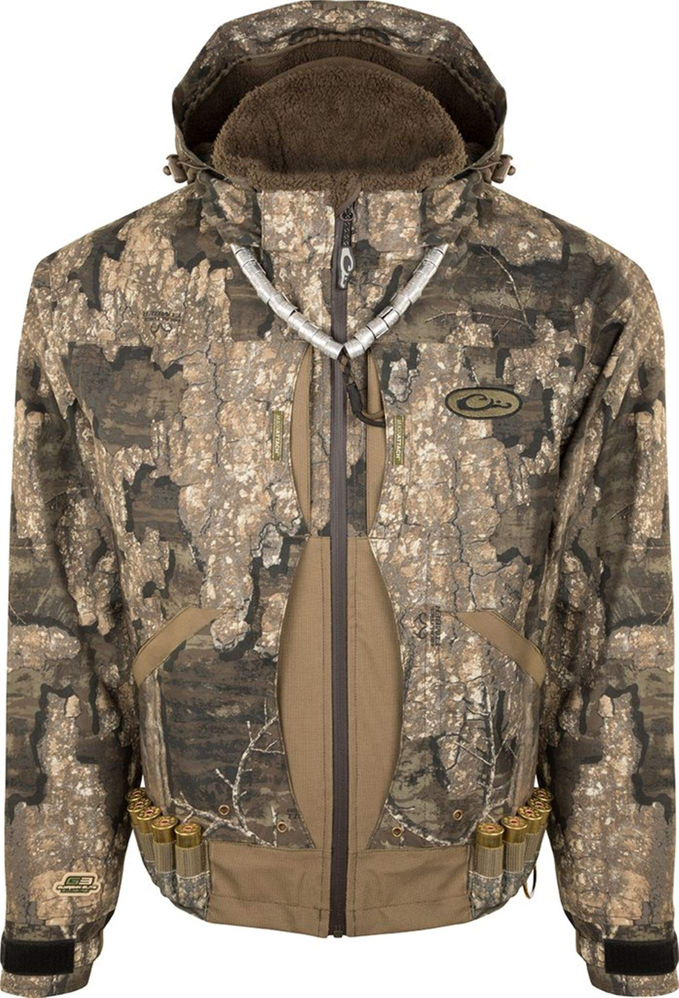 Drake Guardian Elite Flooded Timber - Insulated Realtree Timber Jacket (Medium, Realtree Timber)