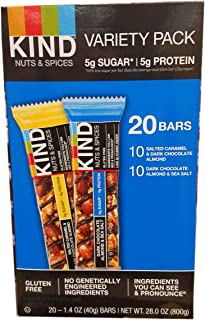 product image for Kind Nut And Spices Bar Variety Pack, 20 Count