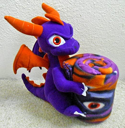 Amazon.com: Skylanders Giants Magic Spyro Manta & almohada ...