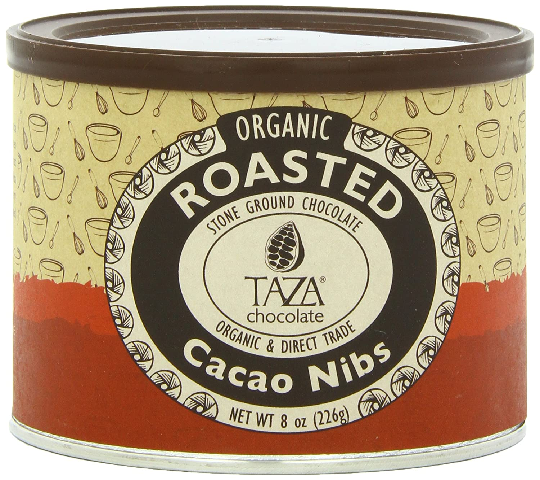 Amazon.com : Taza Chocolate Roasted Cacao Nibs, 8 Ounce : Baking ...