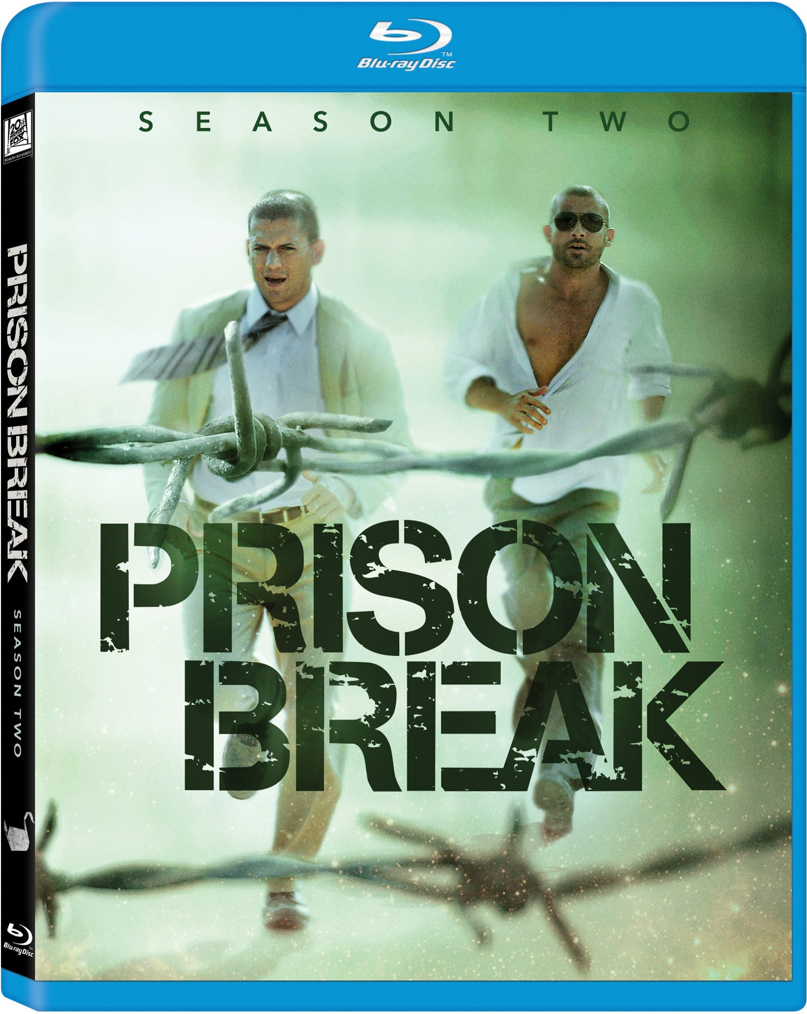 Blu-ray : Prison Break: Season 2 (Boxed Set, Widescreen, , AC-3, Digital Theater System)
