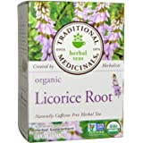 Traditional Medicinals Tea Licorice Root Herbal, 16 ct