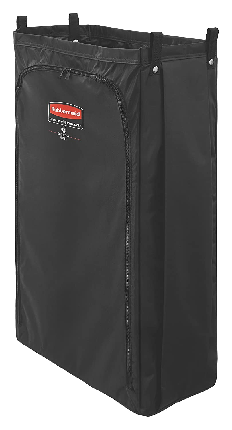Rubbermaid Commercial Products 1966890 Heavy-Duty Fabric Bag for Housekeeping Carts, Long