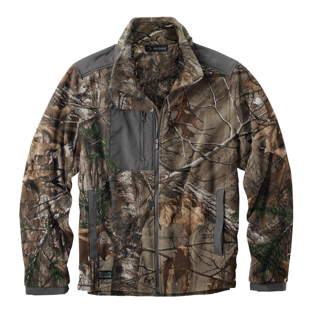 DRI Duck Mens 7350 Quest Fleece Jacket Dri-Duck Traders 268743