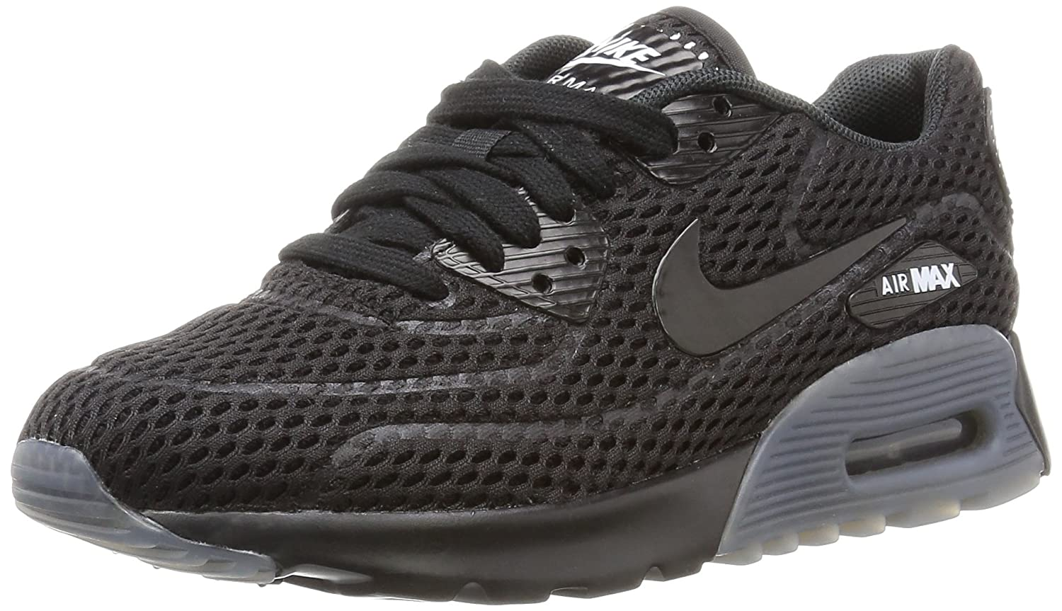 sale retailer 820bd a9e06 Amazon.com   Nike Women s W Air Max 90 Ultra BR, Black Black-White   Running