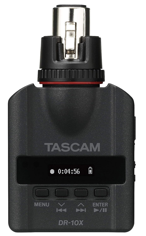 Tascam DR-10X PCM Digital Audio Recorder para XLR Microfonos