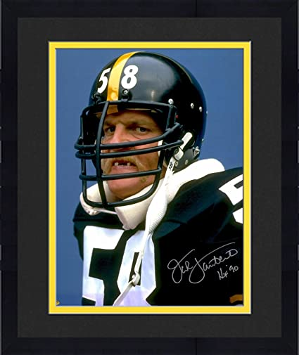 102db45f4 Framed Jack Lambert Pittsburgh Steelers Autographed 16   x 20   Missing  Teeth Photograph