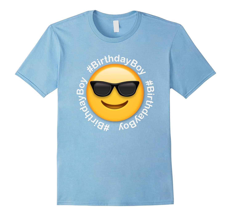 Birthday Boy Cool Emoji T Shirt For Boys TD Teedep