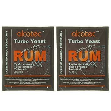 Alcotec Rum Turbo Yeast (Pack of 2)