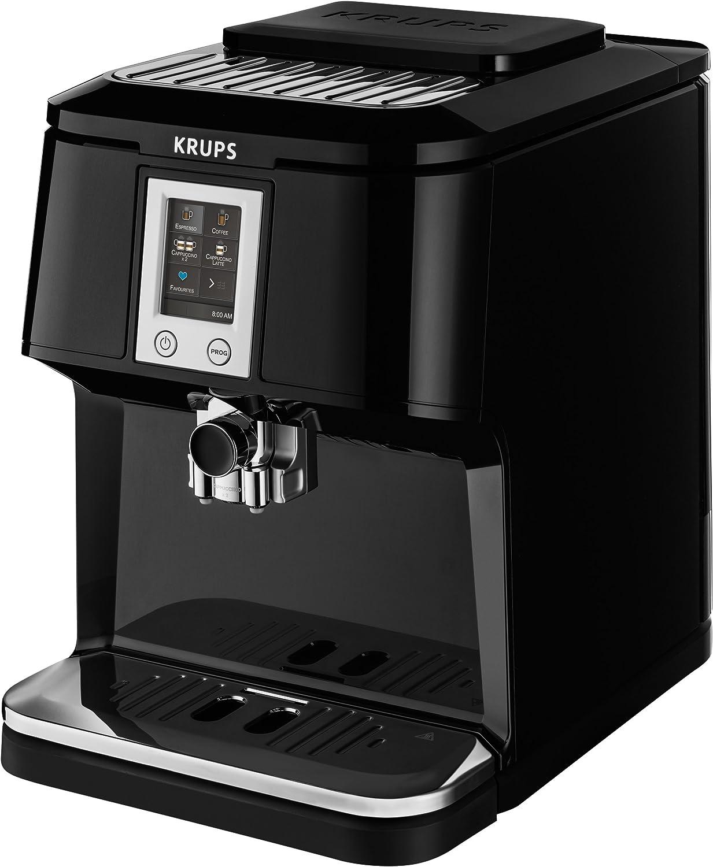 Cafetera Krups EA8808 Independiente Totalmente autom/ática M/áquina espresso 1.7L Negro Independiente, M/áquina espresso, 1,7 L, Molinillo integrado, 1450 W, Negro
